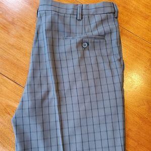 Hagaar grey/black striped shorts. NWOT Size 38